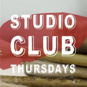 Studio Club @ Collie Art Gallery