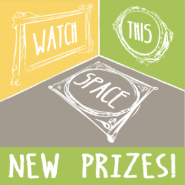 Latest update! New prize for Watch This Space