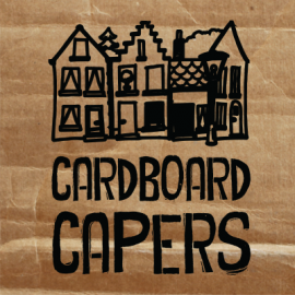 Get crafty with cardboard this school holidays