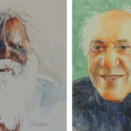 Portraits in Watercolours
