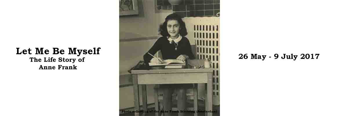 Let Me Be Myself - Life Story of Anne Frank