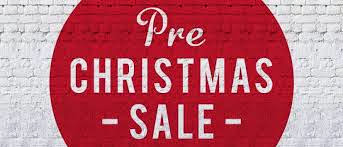 Pre-Christmas Sale