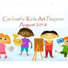 Register for Colourful Kids Art Program