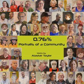 0.76% – Portraits of a Community