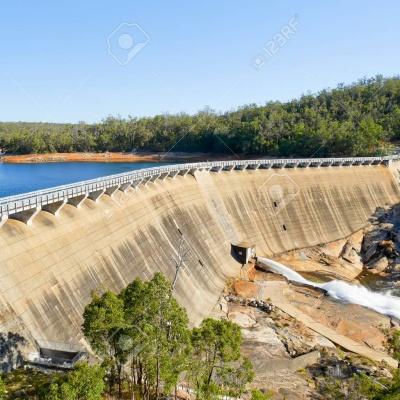 Wellington Dam Mural